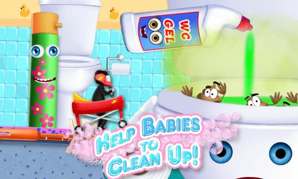 Baby Toilet Race Ekran Görüntüleri - 5