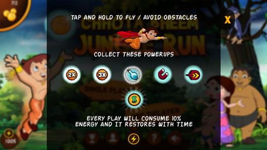 Chhota Bheem Jungle Run Ekran Görüntüleri - 4