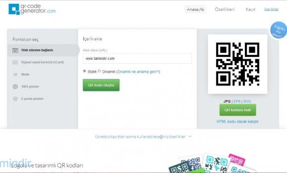 Create QR Code Ekran Görüntüleri - 3