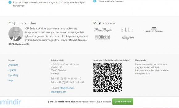 Create QR Code Ekran Görüntüleri - 1