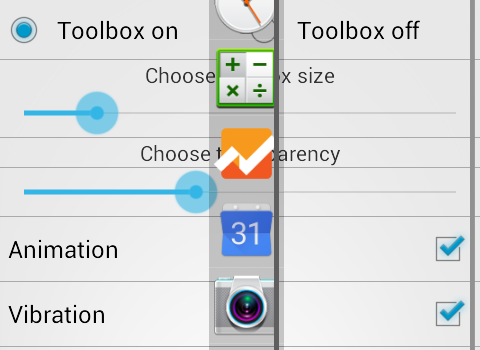 Floating Toolbox Ekran Görüntüleri - 2