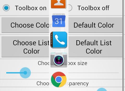 Floating Toolbox Ekran Görüntüleri - 1