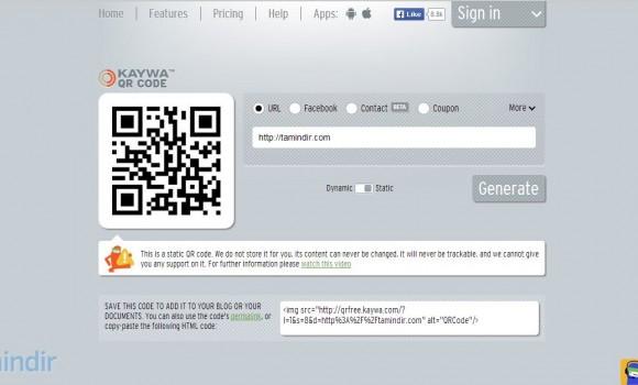Free QR Code Generator Ekran Görüntüleri - 3