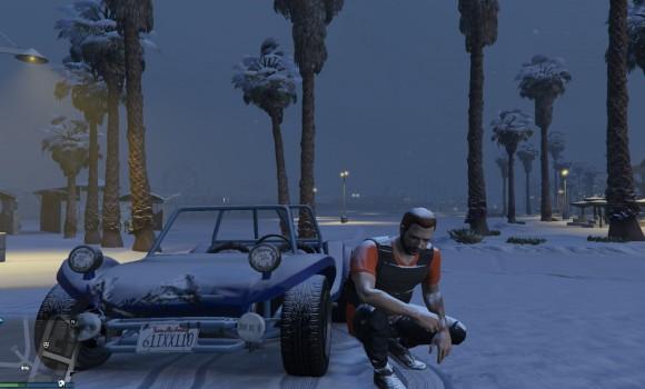 GTA 5 Snow Mod Ekran Görüntüleri - 3