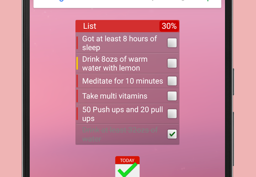 List: Daily Checklist Ekran Görüntüleri - 3