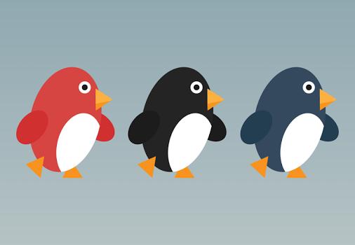 Penguin Run Cartoon Ekran Görüntüleri - 5