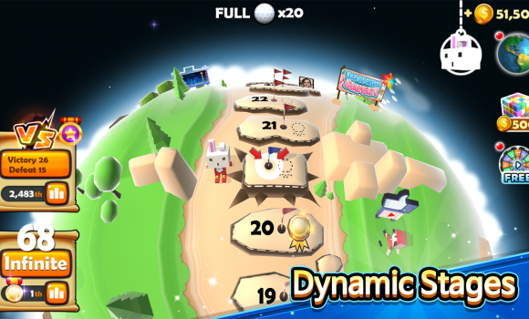 Pixel Golf 3D Ekran Görüntüleri - 2