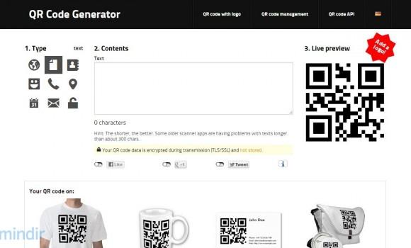 QR Code Generator Ekran Görüntüleri - 3