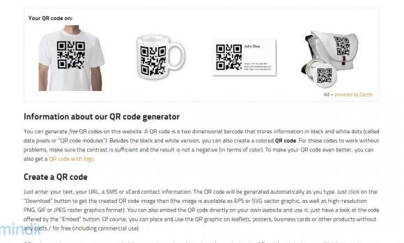 QR Code Generator Ekran Görüntüleri - 2