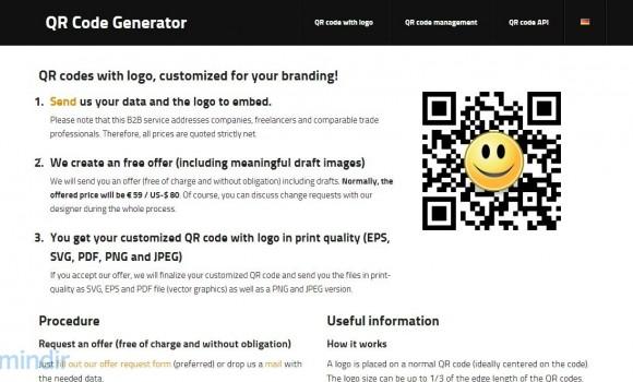 QR Code Generator Ekran Görüntüleri - 1