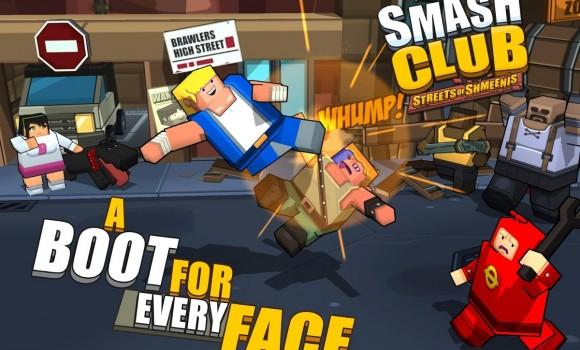 Smash Club: Streets of Shmeenis Ekran Görüntüleri - 2