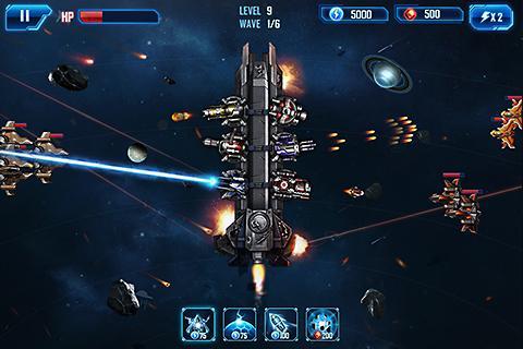 Space War: Galaxy Defender Ekran Görüntüleri - 7