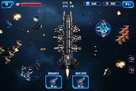 Space War: Galaxy Defender Ekran Görüntüleri - 6