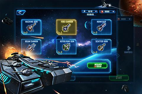 Space War: Galaxy Defender Ekran Görüntüleri - 4