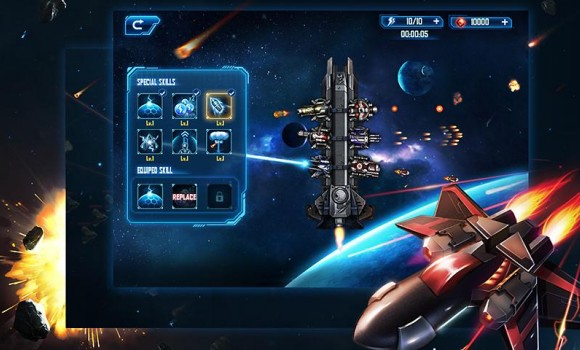 Space War: Galaxy Defender Ekran Görüntüleri - 1