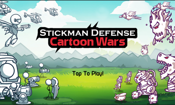 Stickman Defense: Cartoon Wars Ekran Görüntüleri - 7