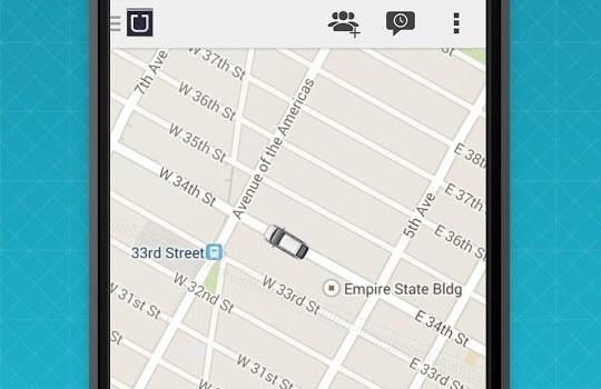 Uber Ekran Görüntüleri - 3