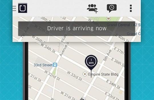 Uber Ekran Görüntüleri - 2