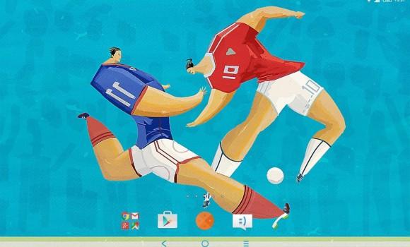 XPERIA Football Theme Ekran Görüntüleri - 3
