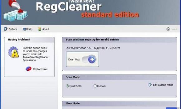 TweakNow RegCleaner Ekran Görüntüleri - 1