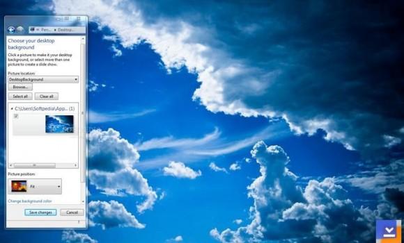 Blue Clouds Teması Ekran Görüntüleri - 1