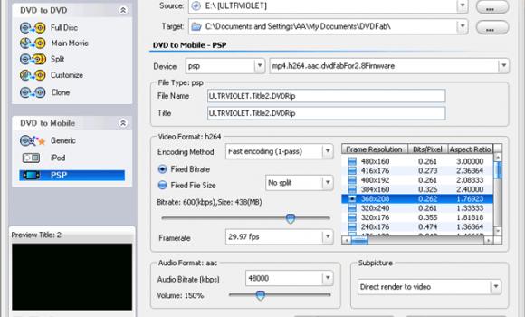 DVDFab Ekran Görüntüleri - 1