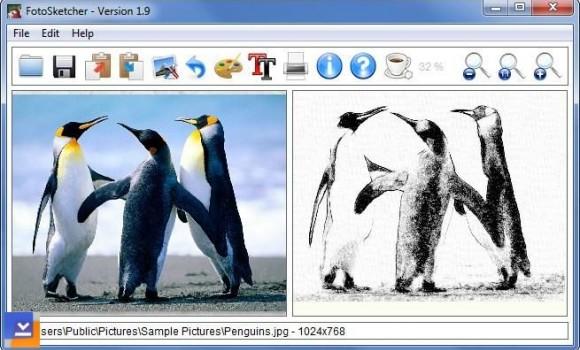 FotoSketcher Ekran Görüntüleri - 1