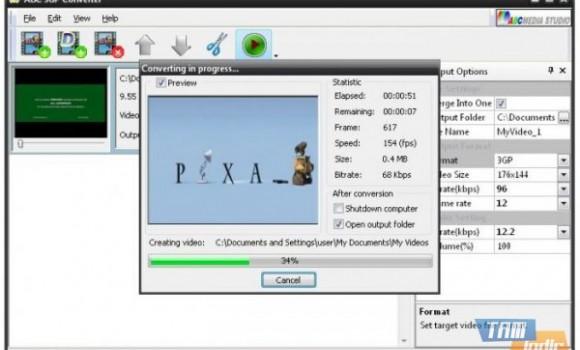ABC 3GP Converter Ekran Görüntüleri - 1