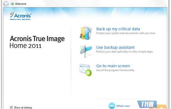 Acronis True Image Home Ekran Görüntüleri - 1