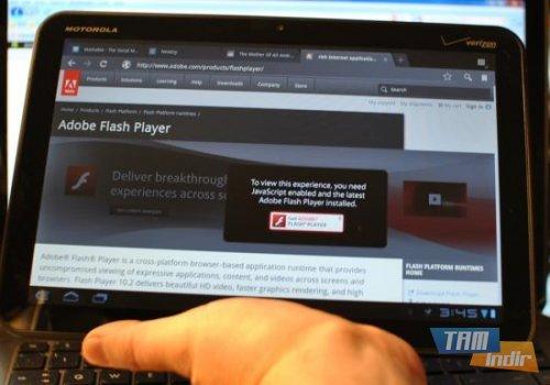 Adobe Flash Player (APK) Ekran Görüntüleri - 1