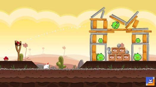 Angry Birds Ekran Görüntüleri - 1