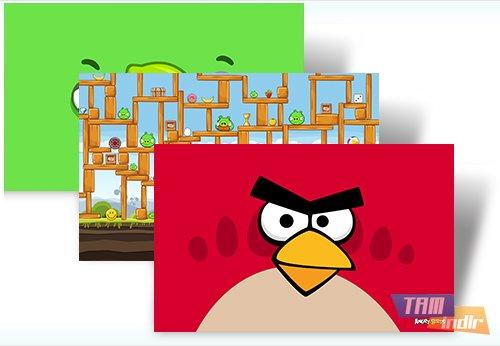 Angry Birds Theme Ekran Görüntüleri - 1