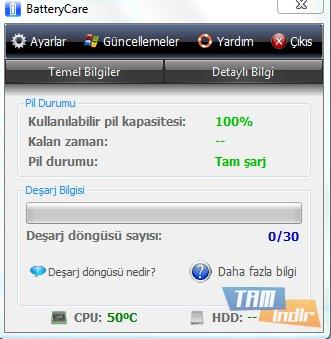 BatteryCare Ekran Görüntüleri - 2