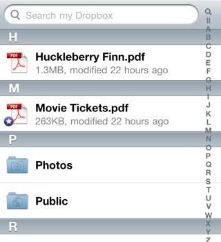 Dropbox Ekran Görüntüleri - 2