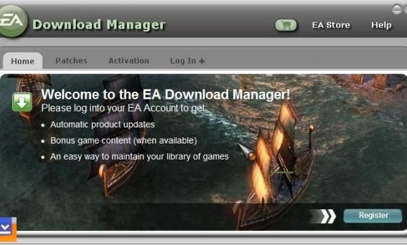 EA Download Manager Ekran Görüntüleri - 1