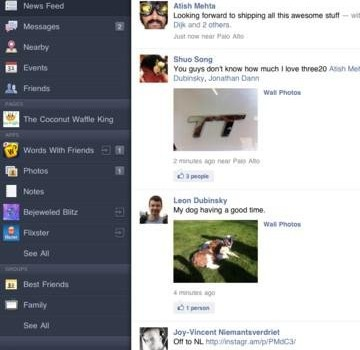 Facebook iPad Ekran Görüntüleri - 2