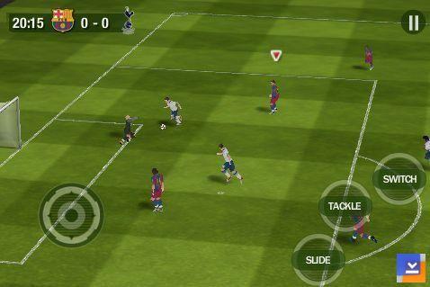 FIFA 11 Mobil Ekran Görüntüleri - 2