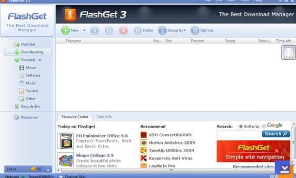 FlashGet Ekran Görüntüleri - 2