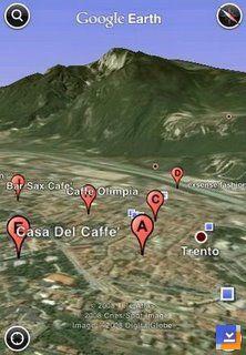 Google Earth Mobile Ekran Görüntüleri - 1