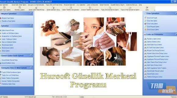 Hursoft Güzellik Merkezi Programı Ekran Görüntüleri - 1