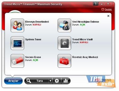 Trend Micro Titanium Maximum Security Ekran Görüntüleri - 2
