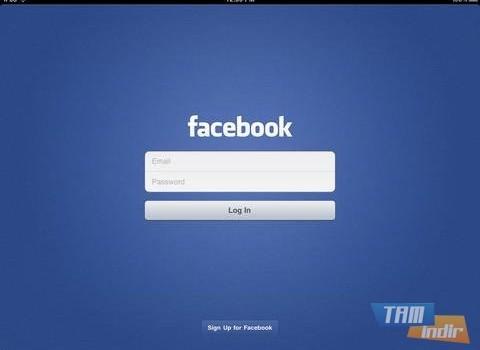 Facebook iPad Ekran Görüntüleri - 1