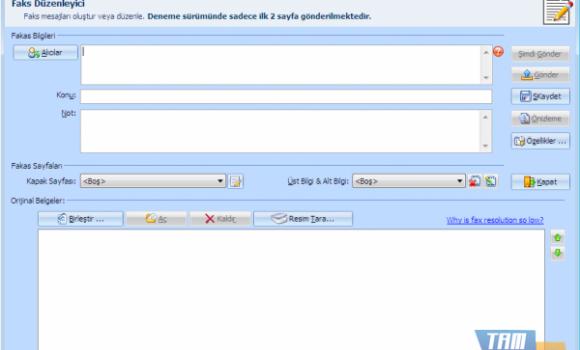 Joyfax Server Ekran Görüntüleri - 1