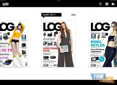 LOG Dergisi Ekran Görüntüleri - 1
