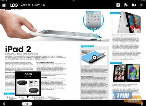 LOG Dergisi Ekran Görüntüleri - 2