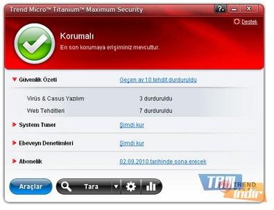 Trend Micro Titanium Maximum Security Ekran Görüntüleri - 3