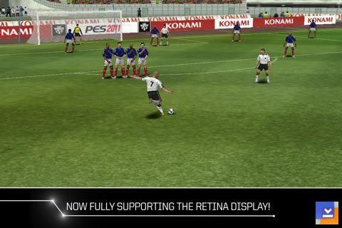 PES 2011 - Pro Evolution Soccer Mobil Ekran Görüntüleri - 2