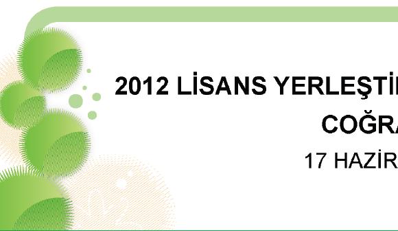 2012 LYS-4 Coğrafya 2 Testi Soruları ve Cevapları Ekran Görüntüleri - 1