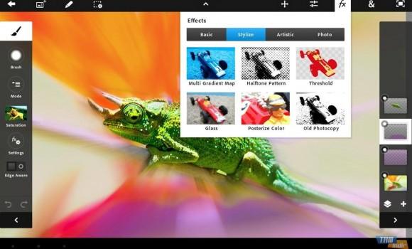 Adobe Photoshop Touch Ekran Görüntüleri - 2
