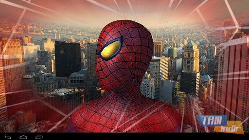 Amazing Spider-Man 3D Live WP Ekran Görüntüleri - 2